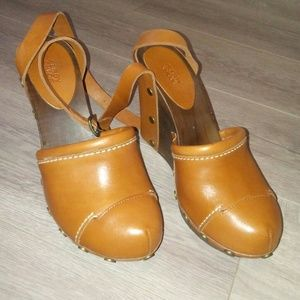 See By Chole sz 39 wedge clogs